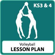 Volleyball Lesson Plans (KS3 & KS4) (All lessons)