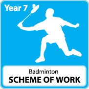 Badminton Scheme of Work (KS4)